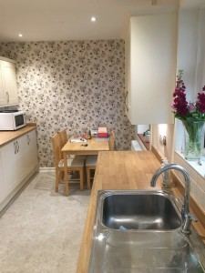 refurbed kitchen project Salisbury