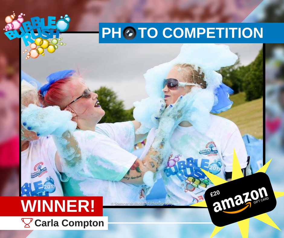 SGS Bubble Rush Competition Winner