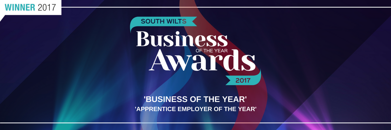 Business of the Year Award Salisbury Wiltshire banner