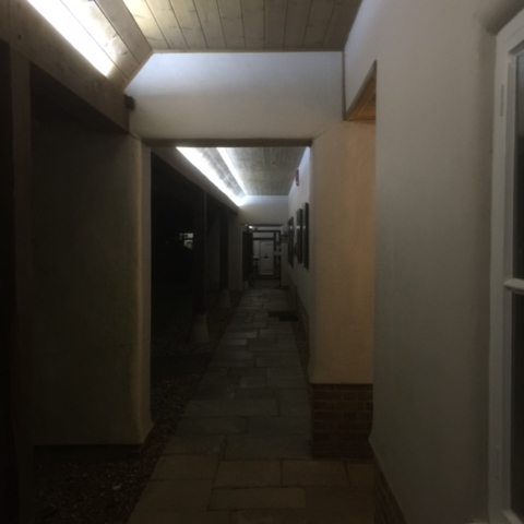 electrical outdoor lighting sutton manor nursing home 4