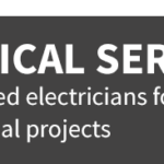 electrical services banner text